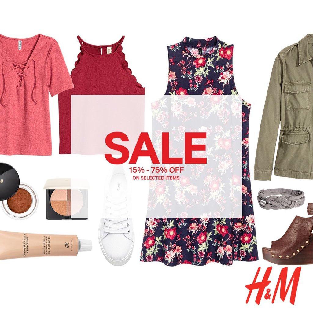 تخفيضات كبرى في معارض H&M تصل لـ75% على بعض المعروضات