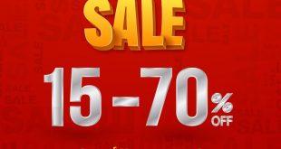 عروض المتجر الوطني بخصومات تصل إلى ٧٠٪ على أفخم الماركات  @MatjarAlwatany
