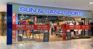تخفيضات تصل حتى ٥٠٪ في محلات الشمس والرمال للرياضة sunandsand