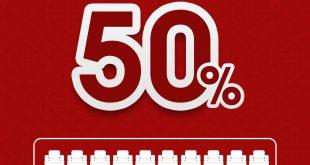 تخفضيات تصل إلى 50% من مفروشات المطلق @almutlaq1954