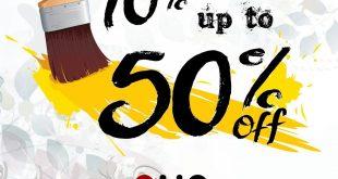 تخفيضات وعروض في ميرو للاثاث والاكسسوارات @mirofurniture من ١٠٪ حتى ٥٠٪